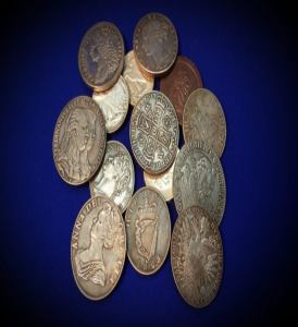 Coins, Banknotes and Currency