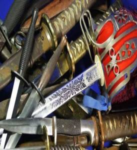 Edged Weapons, Swords and Bayonets