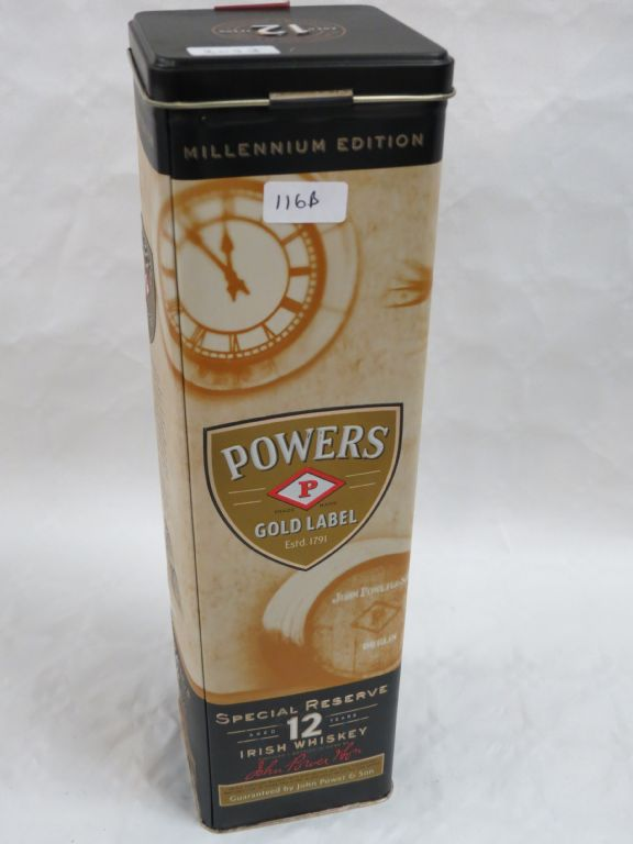 Powers Gold Label Millenium Whiskey - £550