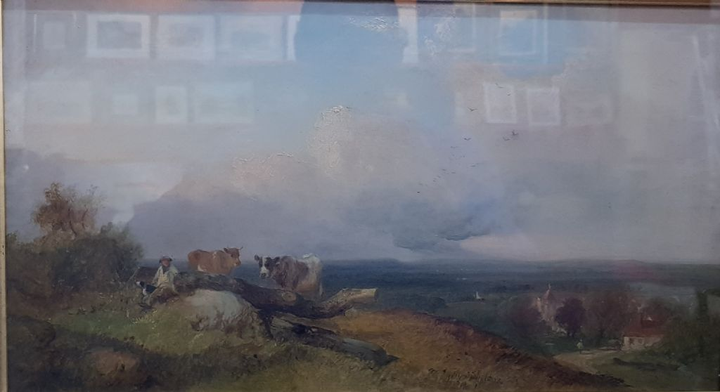 GEORGE SHALDERS - OIL - FARMERS REST - £290