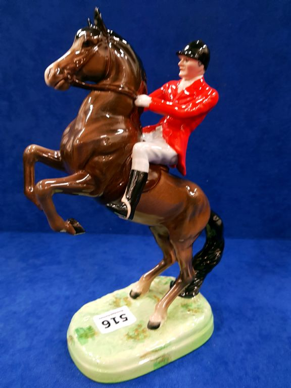 Beswick Hunting Figure on Horseback - £80