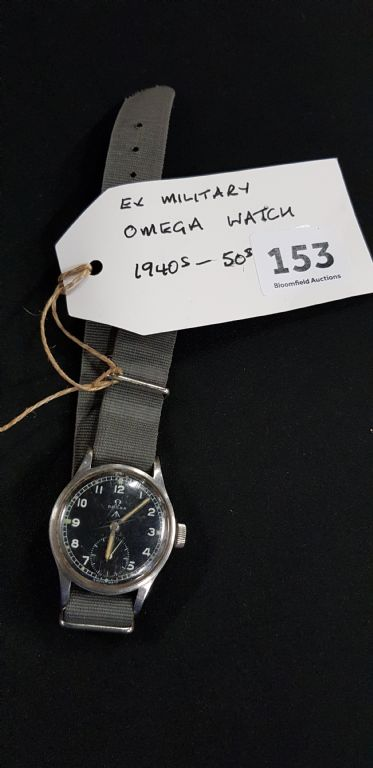 Omega Military Watch - £950 + Fees