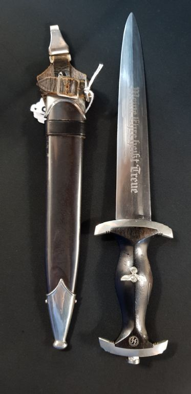 WW2 Third Reich SS Officers Dagger - £1600 + Fees