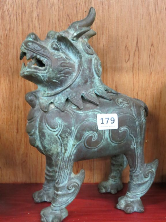 Bronze Temple Dog of Foe - £110