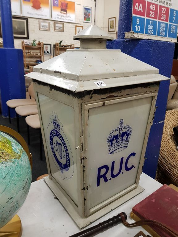 RUC Station Lamp from Kilkeel Police Station - £1230