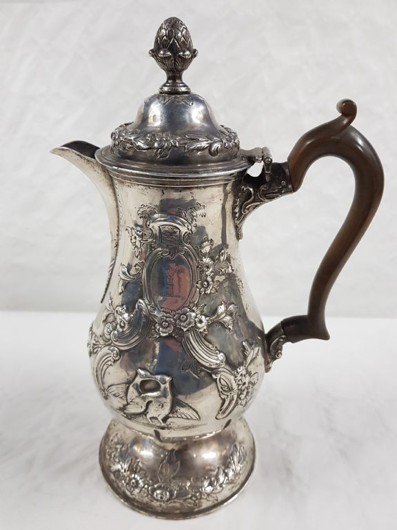 Irish Silver Coffee Pot - £1100