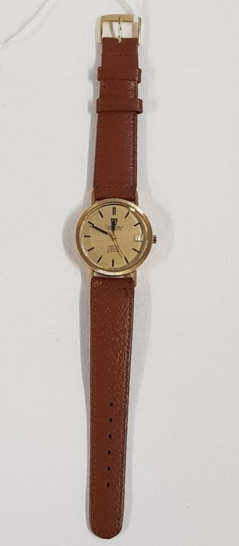 VINTAGE 18CT GOLD OMEGA CONSTELLATION WATCH - £460