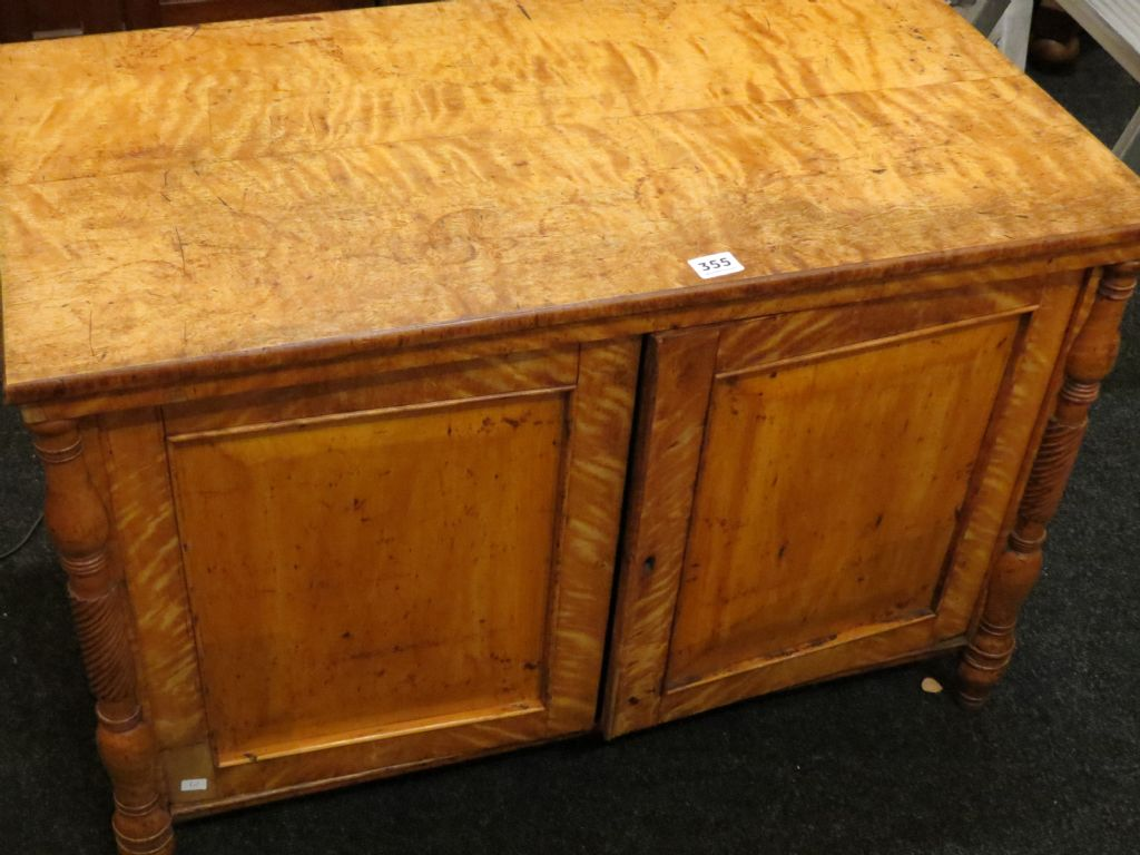 Regency Satinwood 2 Door Cabinet - £190