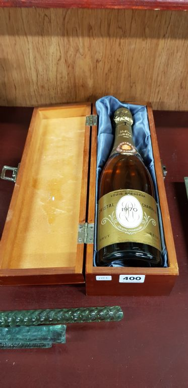 Cased Bottle of Louis Roederer - £220