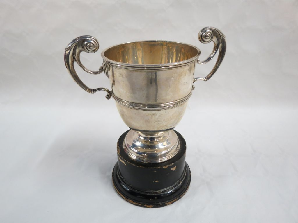 Small Irish Silver Trophy - £160