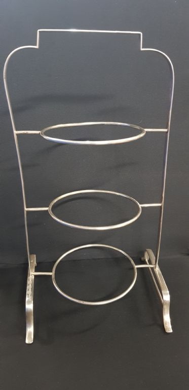Silver 3 Tier Cakestand - £380 + Fees