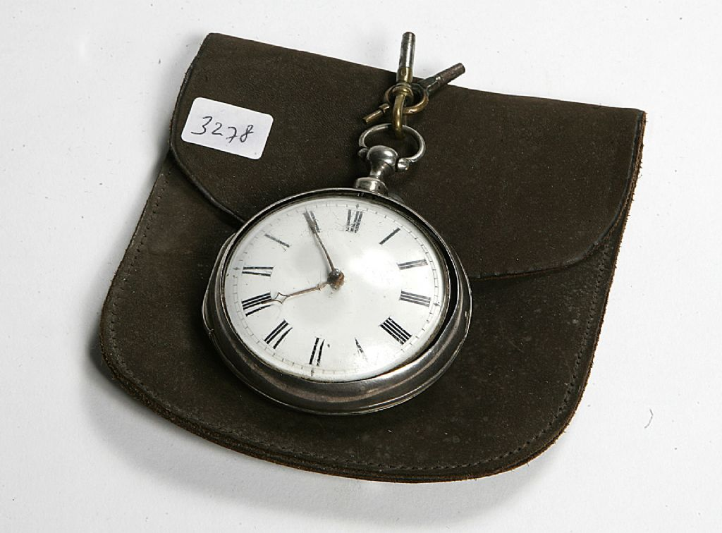 Georgian Silver Pocket Watch Made In London with Dublin Movement - £100