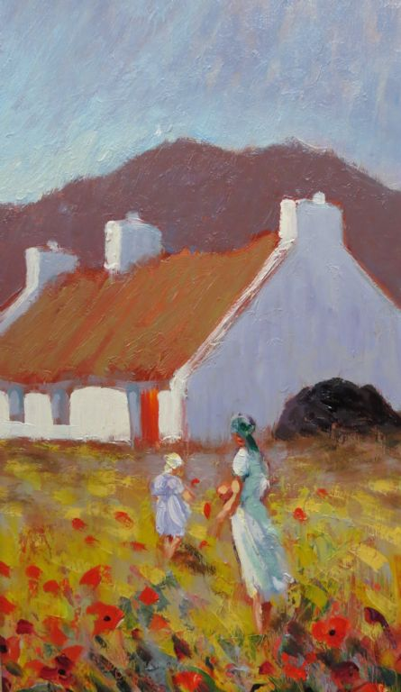 William Cunningham - Oil On Board - £160