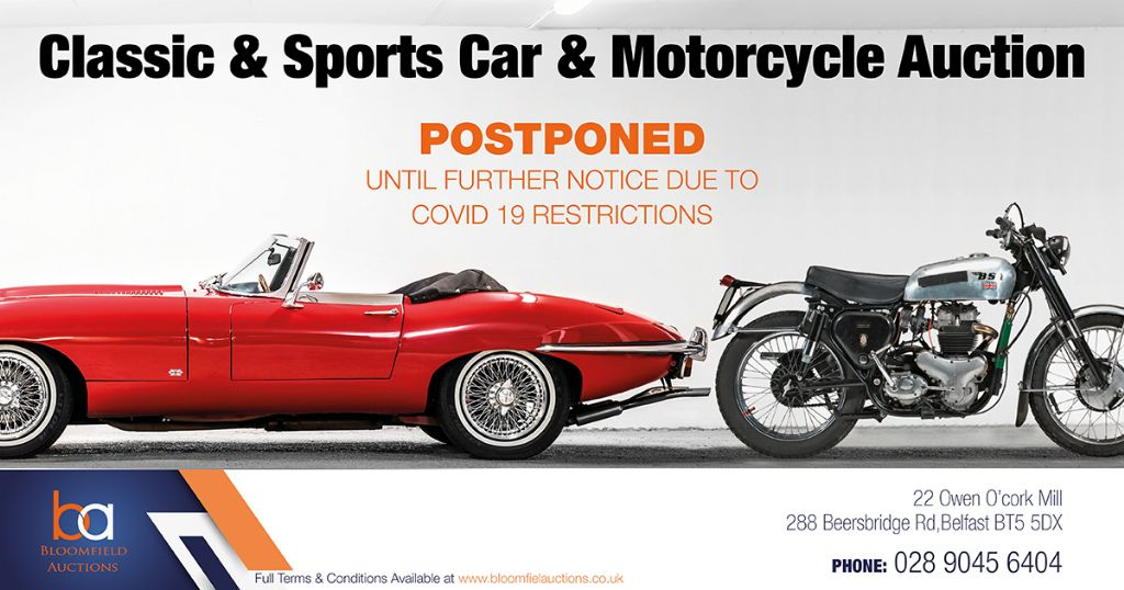 Classic Car Auction Postponed
