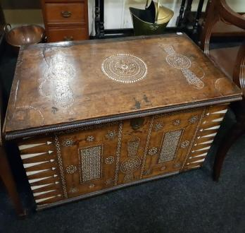 18th Century Anglo Asian Trunk - SOLD £700